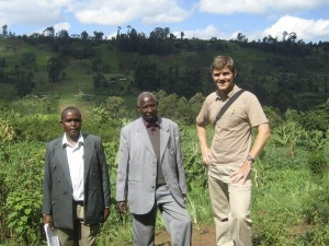 Visiting coffee farms in Nyeri, Kenya