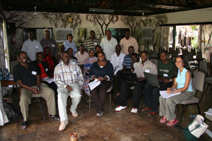 Some of the participants of the workshop.