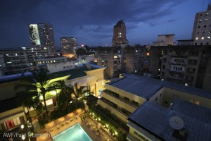 Arrival in Kinshasa