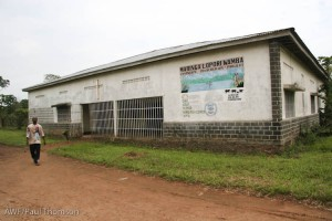 The AWF office in Basankusu.