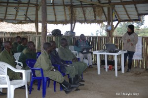 Training rangers in tourism customer care